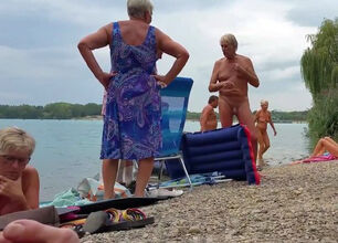Nudist colony family